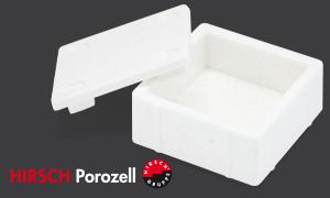 Gelebte Kreislaufwirtschaft: Box aus 100% recyceltem EPS für Angelwürmer